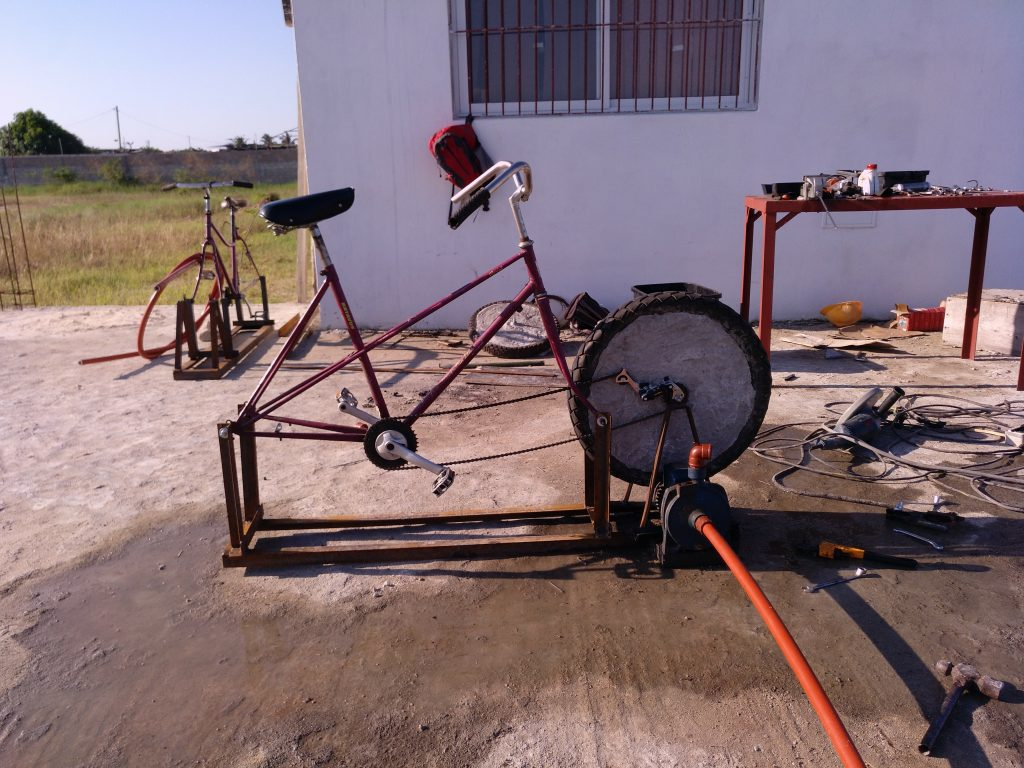 Las Bici-Bombas de Azada Verde.